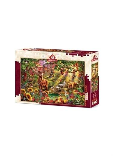 Art Puzzle Art Puzzle Büyülü Orman 1000 Parça Kutu Puzzle Renksiz